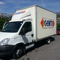 Transports - Genti Transports - camionnette
